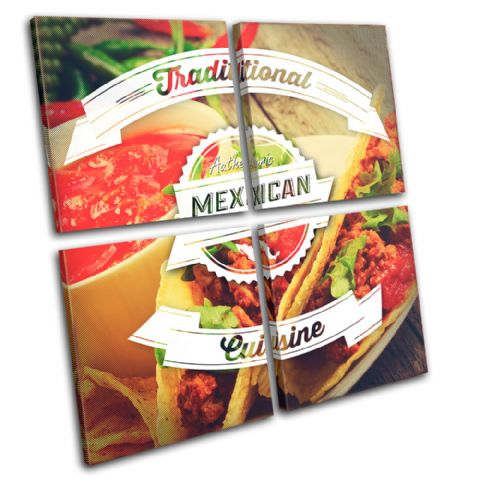 Mexican Typography Food Kitchen - 13-6051(00B)-MP01-LO